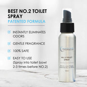 No. 2 Before-You-Go Toilet Spray, 2.7 oz (3-Pack)
