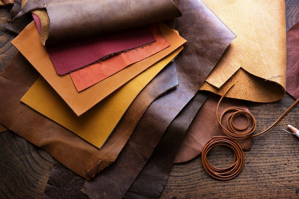 Leather through the ages, one of the most versatile natural material.