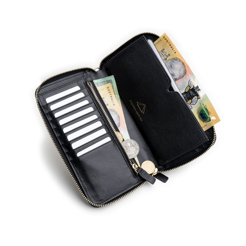 k2 leather wallet womens travel