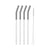 10 Inch Stainless Steel Straw [Set of 4]