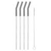12 Inch Stainless Steel Straw [Set of 4]