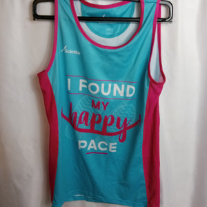 Pre-Loved Slogan Running Vest Size S