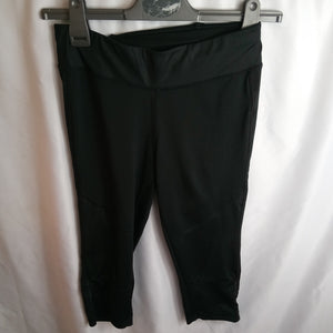 Pre-Loved Crivit Capri Leggings Size S Condition Good