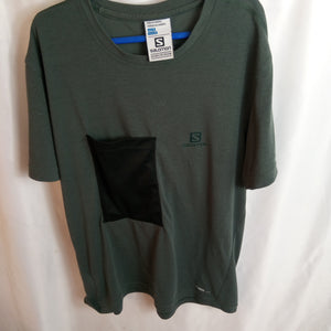 Up Cycled Salomon Tee Size S