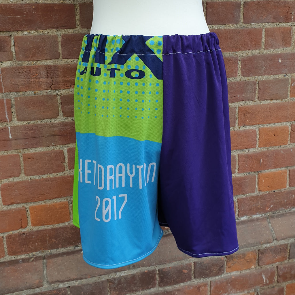 Gins Running Stitch Shorts - Large