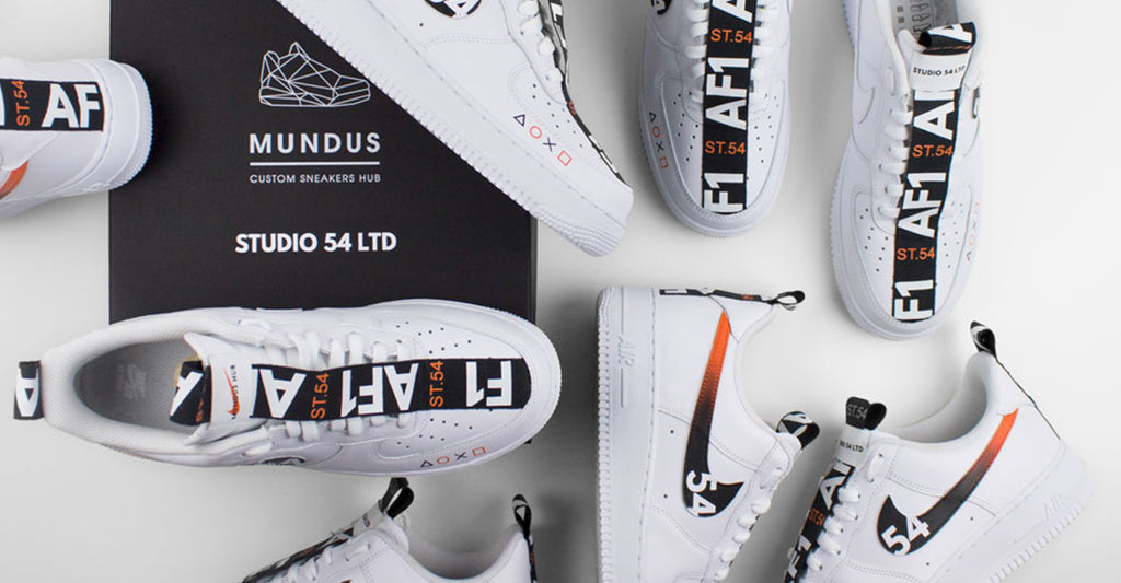 Mundus Hub x Studio54Ltd - Nike Air Force 1 low