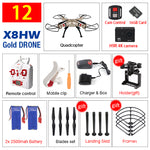 Syma X8HG X8HW X8HC FPV RC Drone with 4K/1080P Wifi Camera HD 2.4G 6Axis Hover RC Quadcopter Helicopter VS X8W X8S Drones