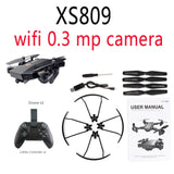 XS809W hovering racing helicopter rc drones