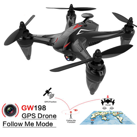 GW198 5G WiFi FPV Auto Return GPS