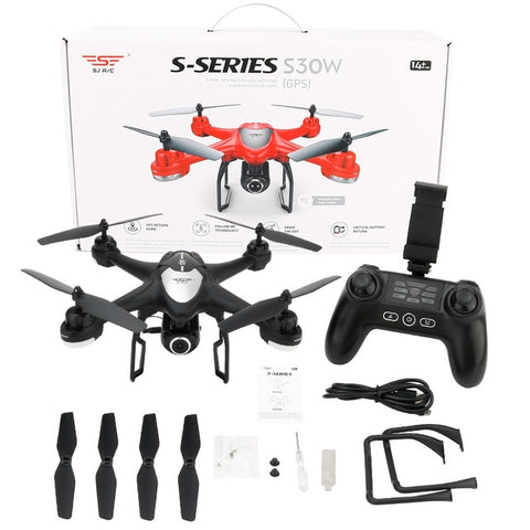SJ/RC S30W 2.4GHz Double GPS
