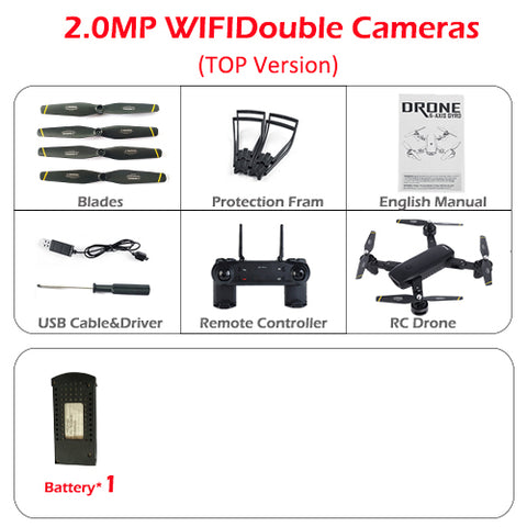 SG700 Foldable Drone Min Drone With Camera HD/NO Camera  Altitude Hold RC Pocket Dron VS YH-19HW Visuo XS809HW JD-20 RC Drone