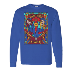 STAINED GLASS BLUE L/S TOUR TEE
