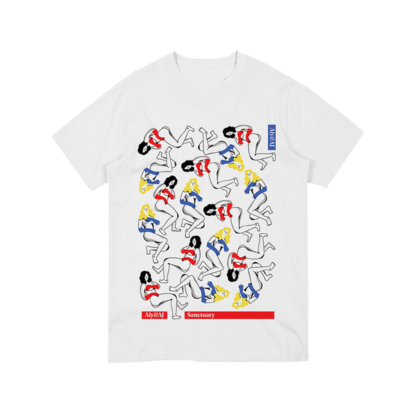 FLOATING FIGURES TEE