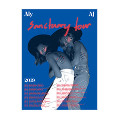 SANCTUARY 2019 TOUR POSTER