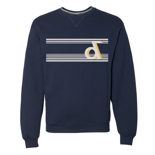'Ampersand' Navy Crewneck Sweatshirt