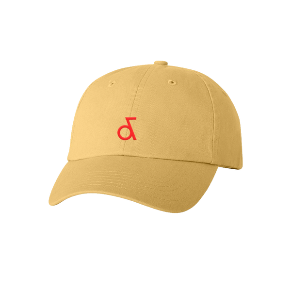 Ampersand Logo Yellow Dad Hat