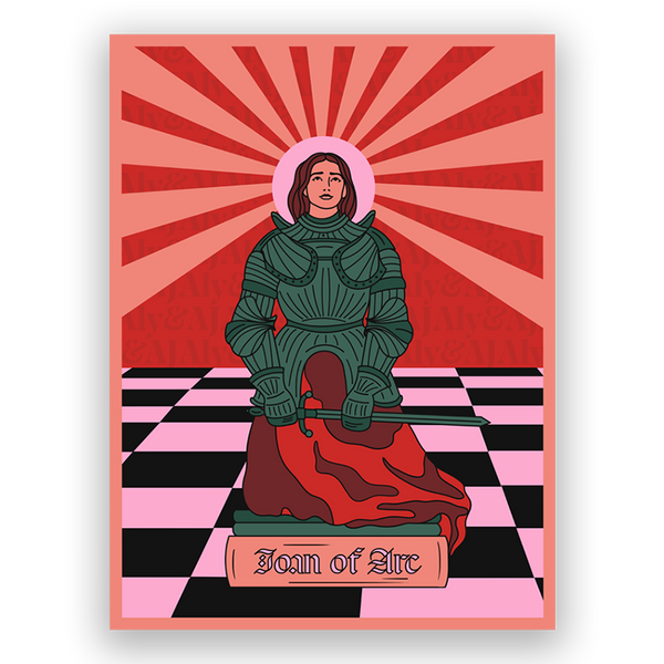 JOAN OF ARC ON THE DANCE FLOOR POSTER