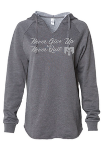 Ladies Never Give Up Hoodie