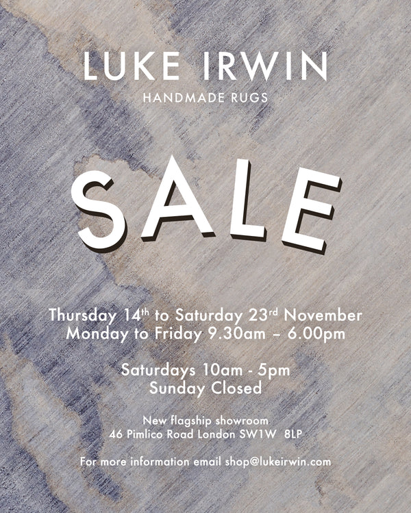 Sale Thursday 14th - Saturday 23rd November