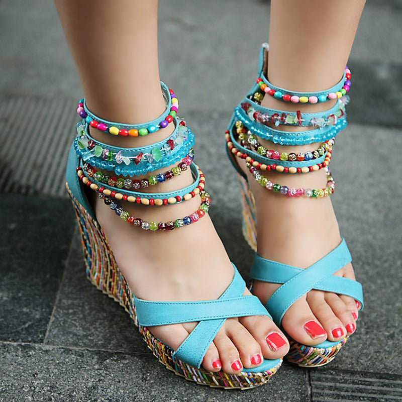 Platform Wedge Sandals - Comfortable Style | Getmorebeauty