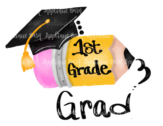 Graduation pencil- 1st Grade