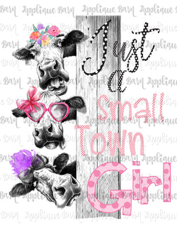 Small Town Girl Cows