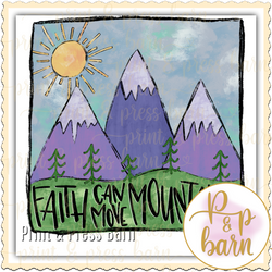 Faith can move Mountain