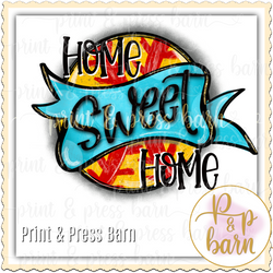 Softball Home Sweet Home PP