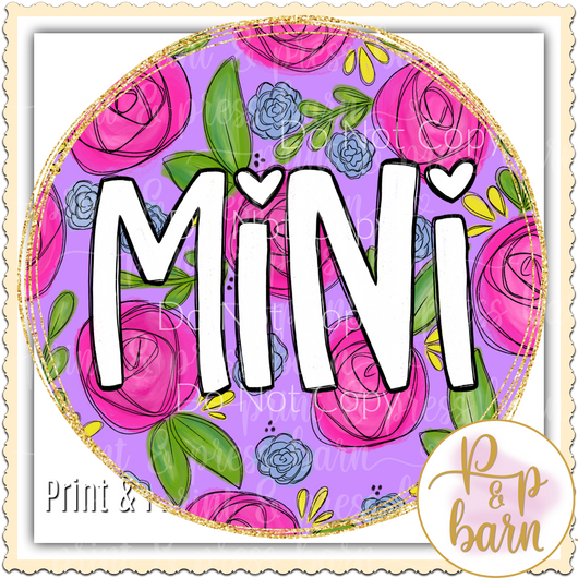 Mini Flower Frame
