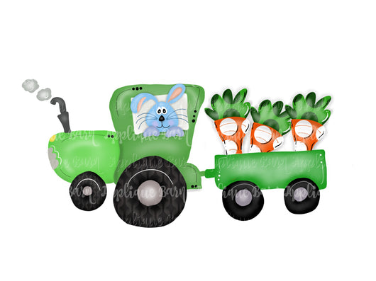 Easter Tractor- Green