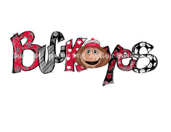 Buckeye Word Art