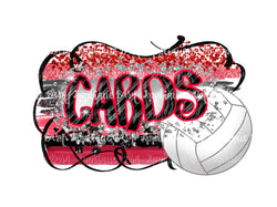 Cards Volleyball Frame