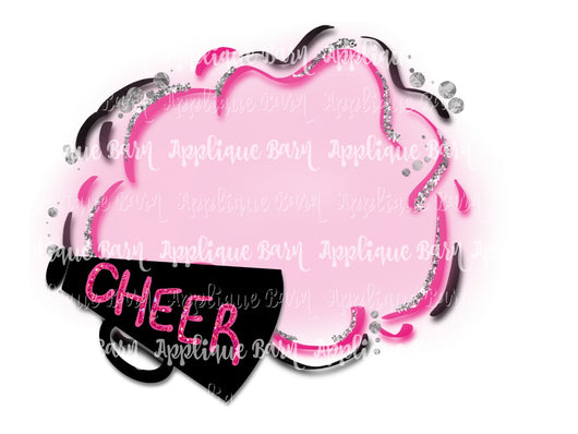 Cheer Frame- Pink