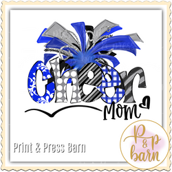 Cheer Mom- Blue