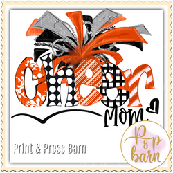 Cheer Mom- Orange