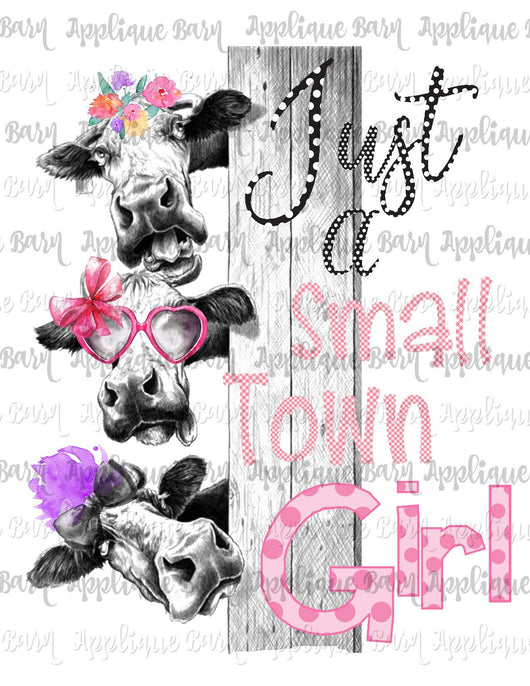 Small Town Girl Cow