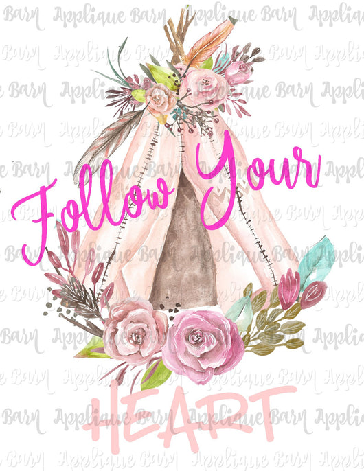 Follow your Heart Teepee