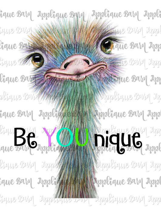Ostrich Be You Nique