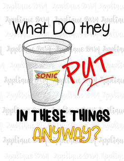Sonic Cup