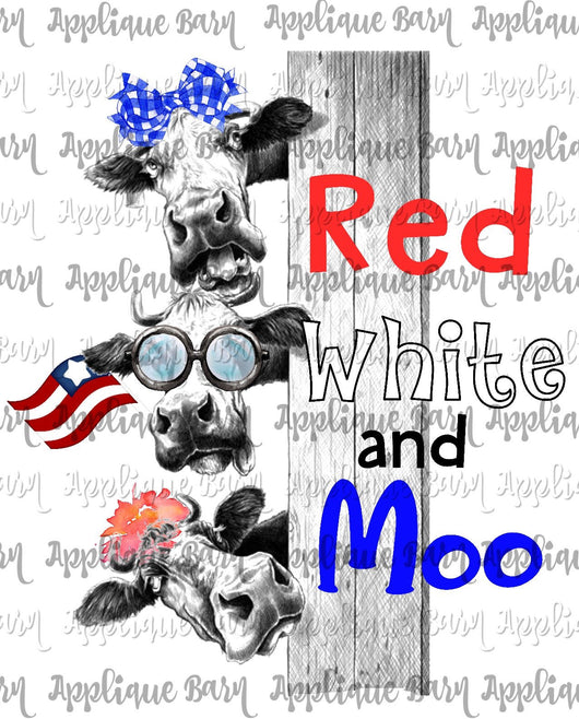 Cow 4th of July