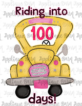 100 days School Bus