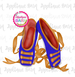 Nutcracker Ballet Slippers-