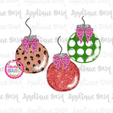 Ornament Trio