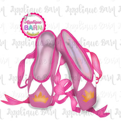 Sleeping Beauty Ballet Slippers