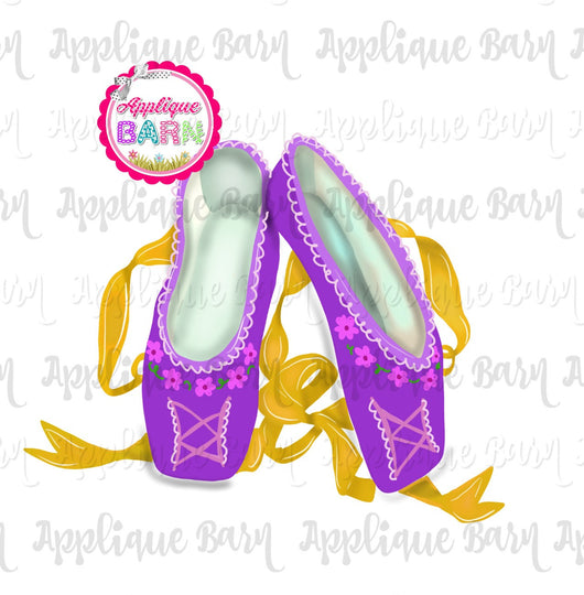 Repunzel Ballet Slippers