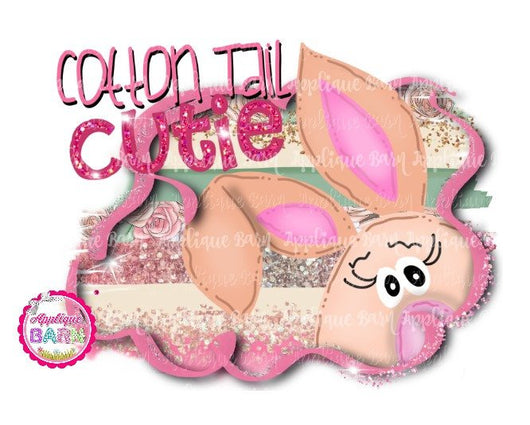 Girl Cotton Tail Cutie