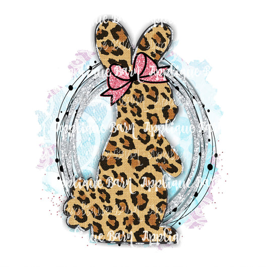 Easter Bunny - Leopard