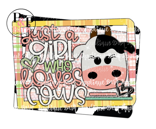 Girl who Loves Cows