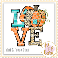Pumpkin Love - Orange