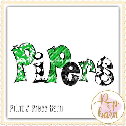 Pipers- Green
